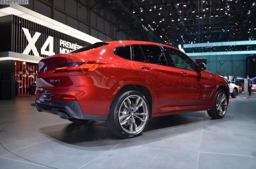 Bmw X2 2018 Dimensions >> 2018 Geneva Motor Show: New BMW X4 in Flamenco Red
