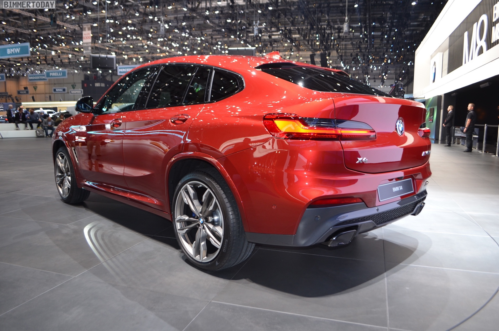 Bmw Xdrive System Review >> 2018 Geneva Motor Show: New BMW X4 in Flamenco Red