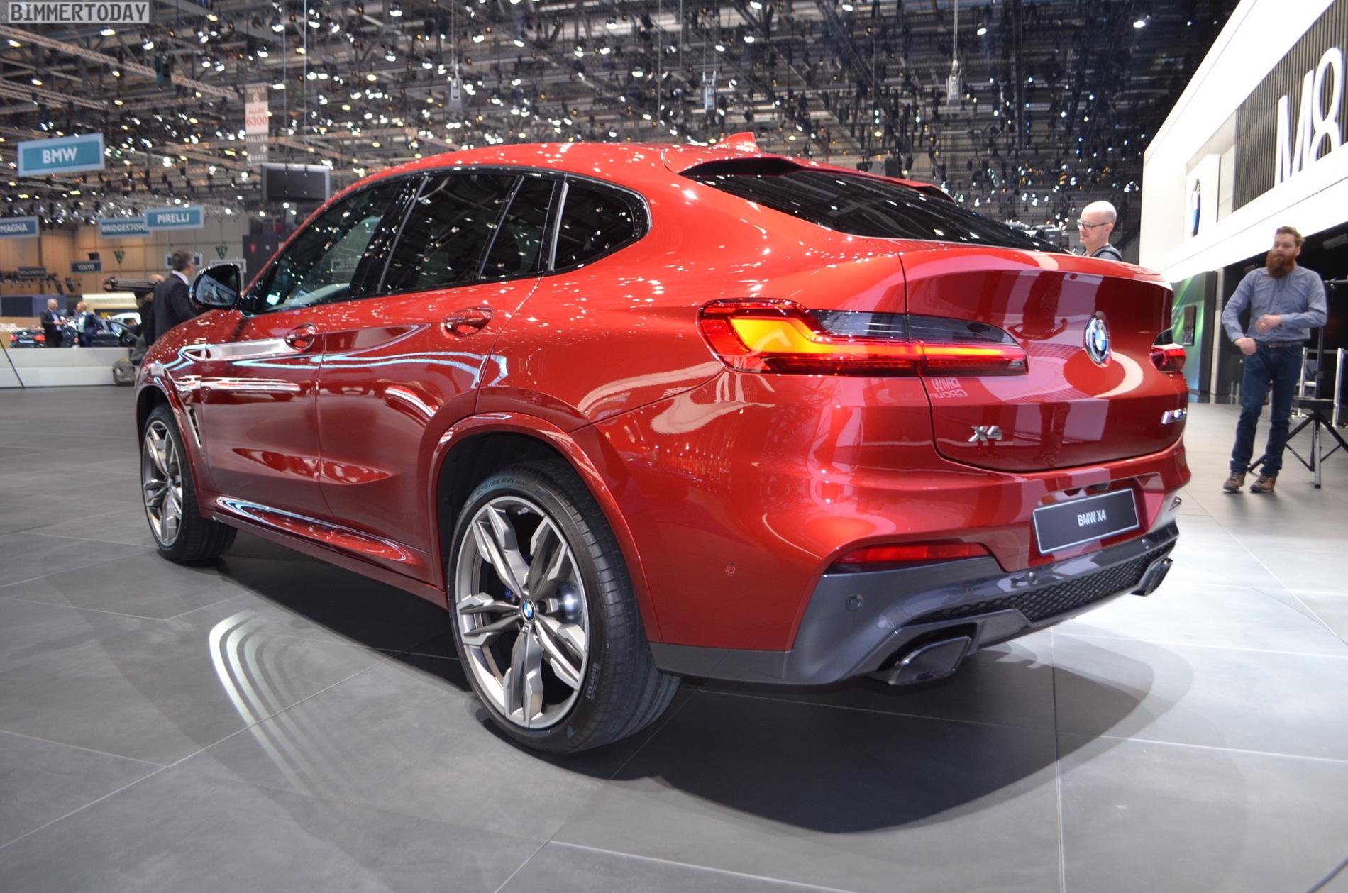 Bmw Of Newton >> 2018 Geneva Motor Show: New BMW X4 in Flamenco Red
