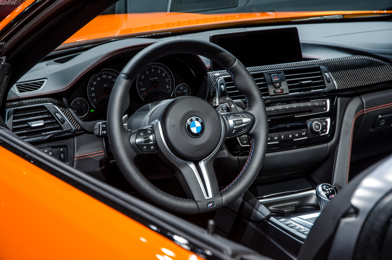 Fire Orange BMW M4 Convertible 2