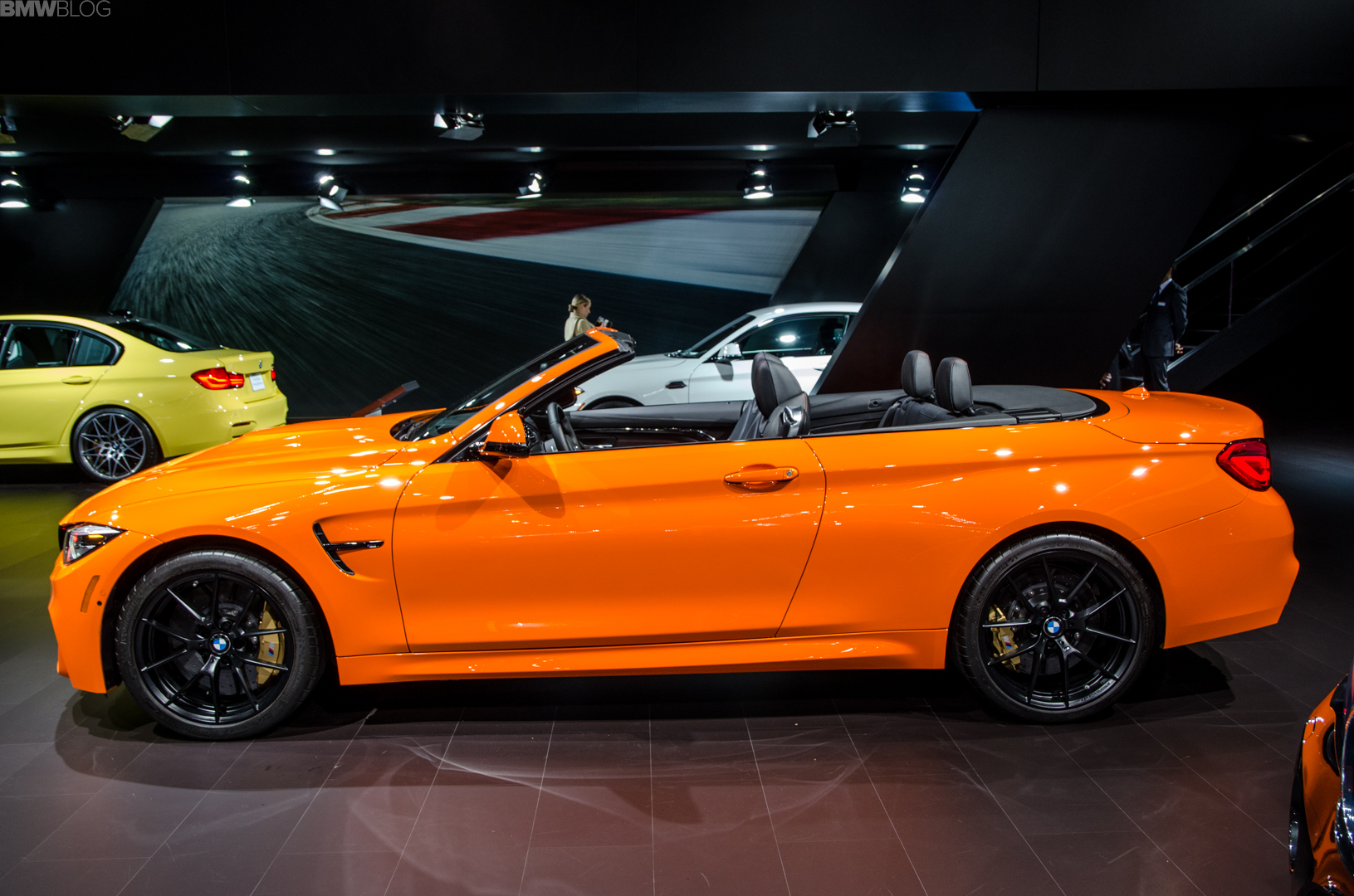 Fire Orange BMW M4 Convertible