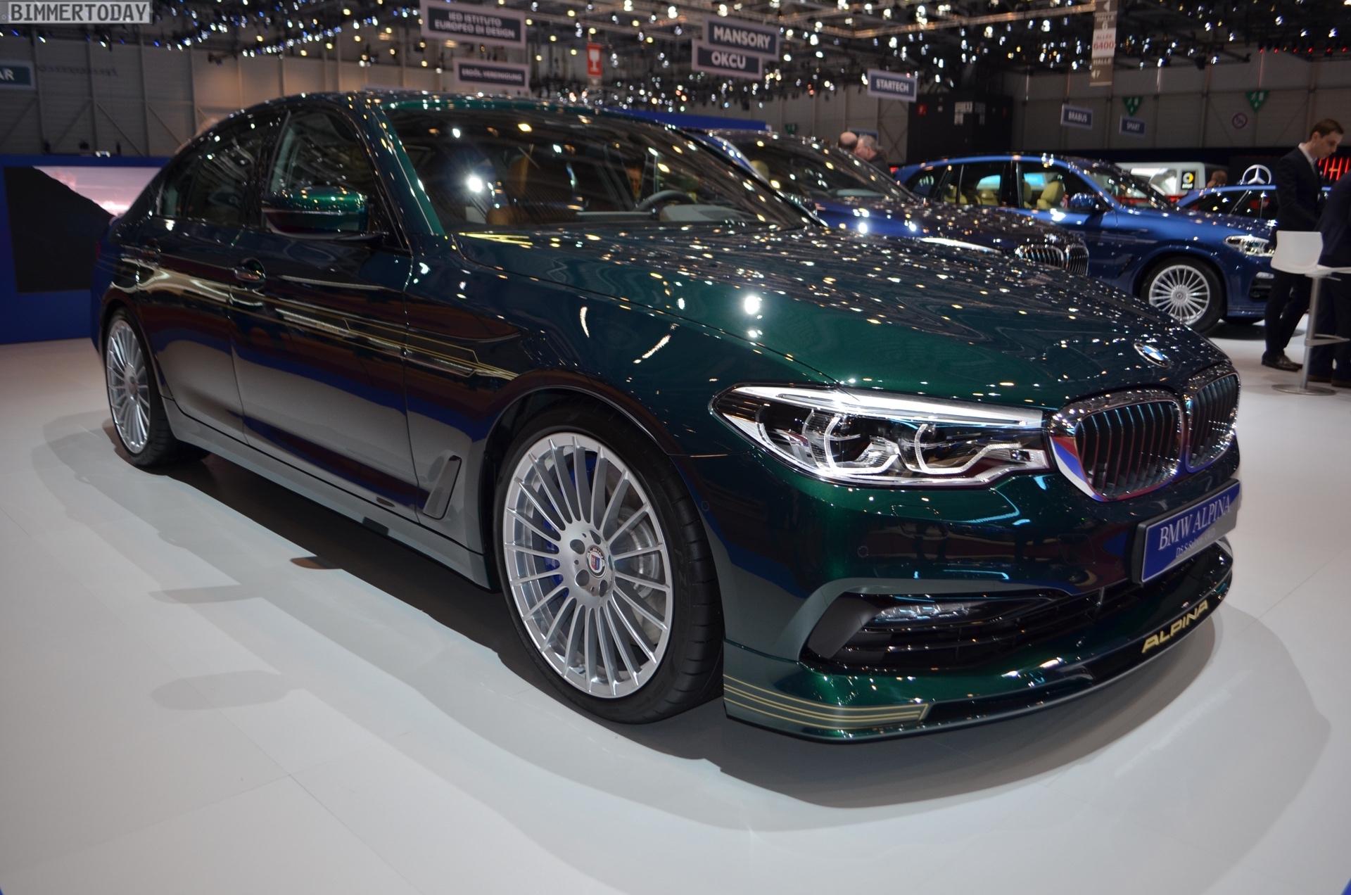 Genf 2018 Alpina D5 S BMW 5er G30 Live 01