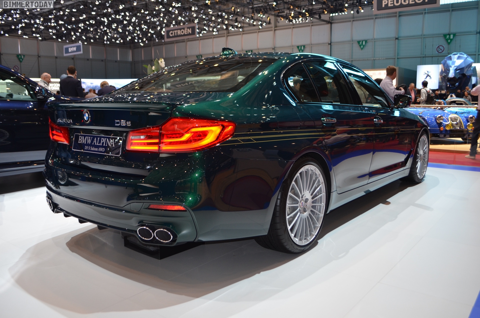2018 Geneva Bmw Alpina D5 S In Alpina Green Looks Stunning