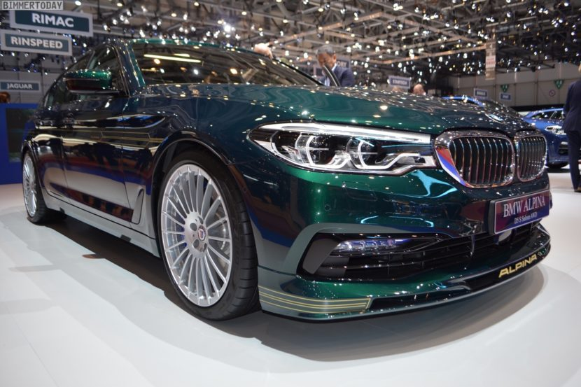 Geneva BMW ALPINA D S In Alpina Green Looks Stunning - 2018 bmw alpina b7 price