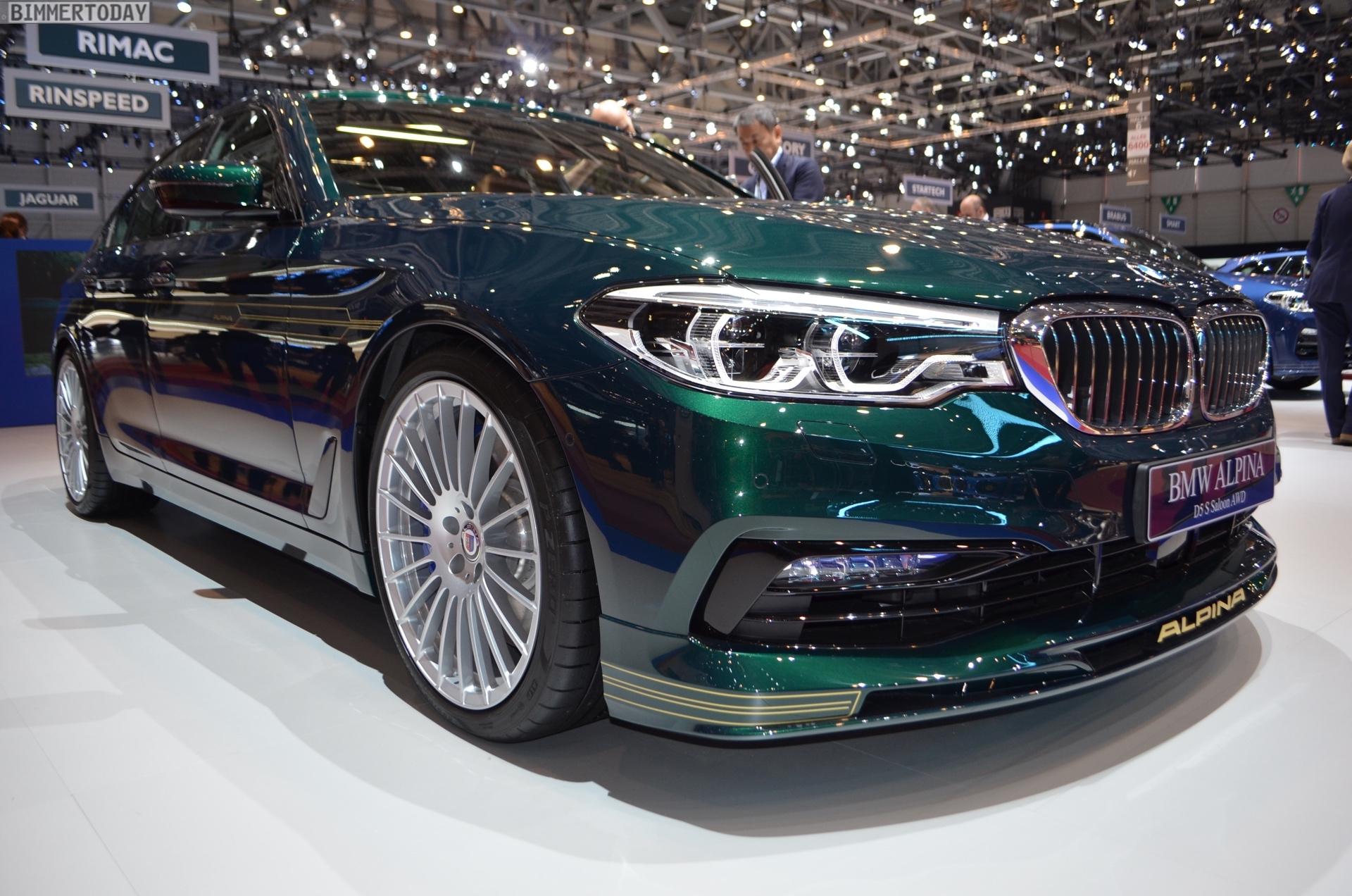 Genf 2018 Alpina D5 S BMW 5er G30 Live 03