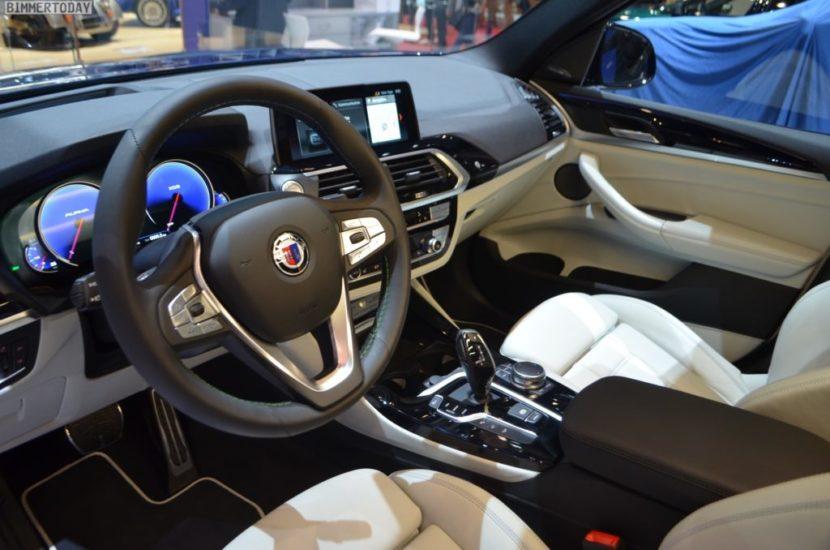 Genf 2018 Alpina XD3 BMW X3 G01 Interieur Live 08 1024x678 830x550