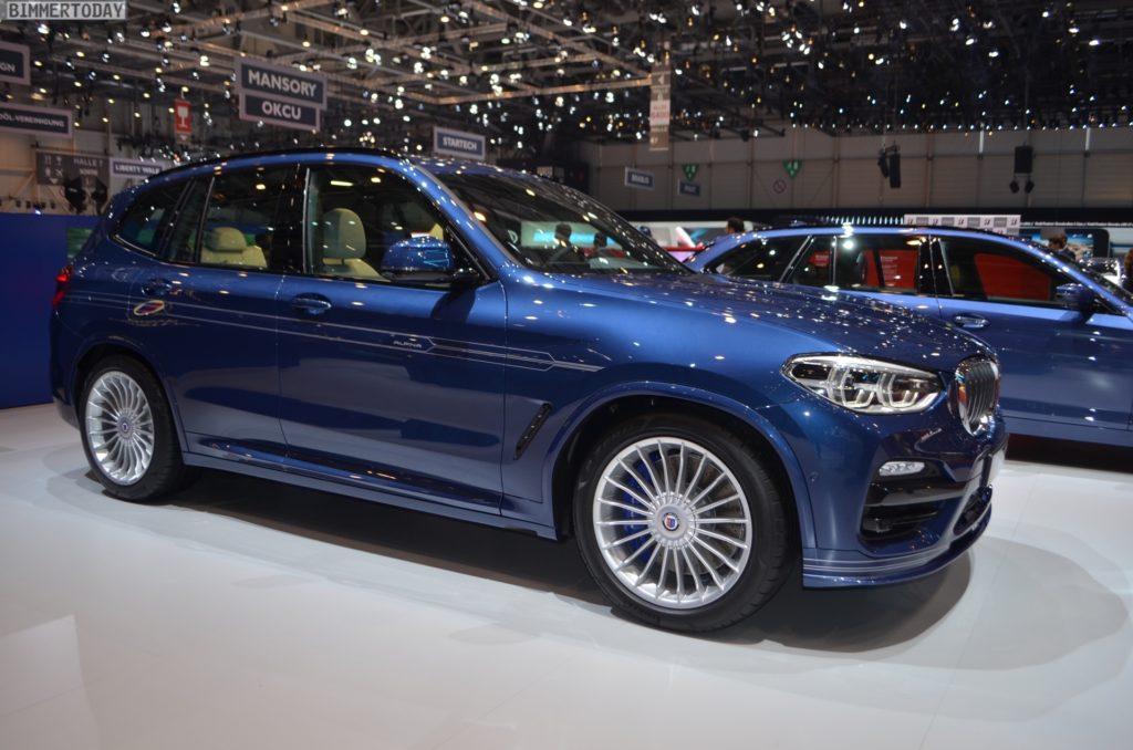 Genf 2018 Alpina XD3 BMW X3 G01 Live 05 1024x678