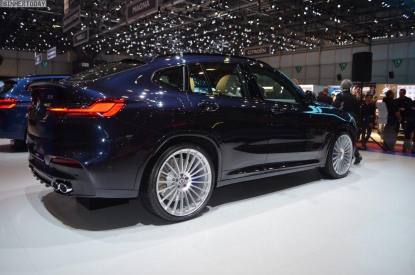 Genf 2018 Alpina XD4 BMW X4 G02 Live 02 830x550
