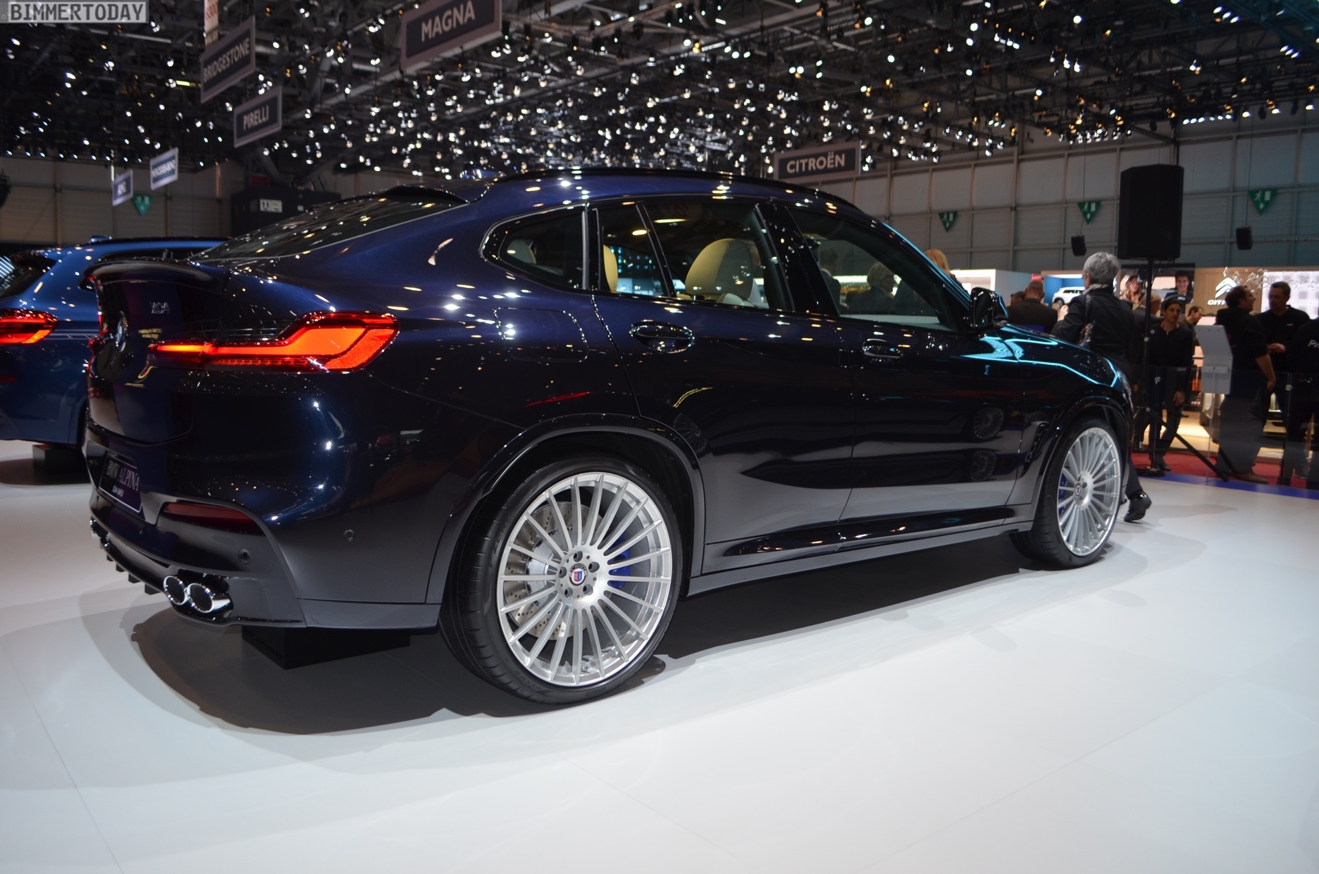 2018 Geneva Motor Show First Live Photos Of The G02 Bmw
