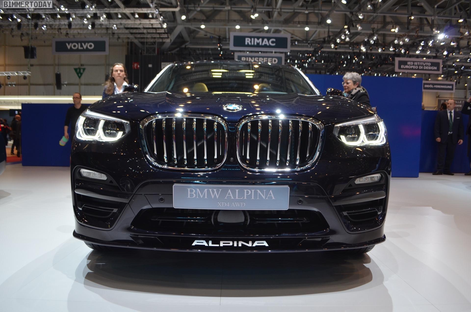 Genf 2018 Alpina XD4 BMW X4 G02 Live 03