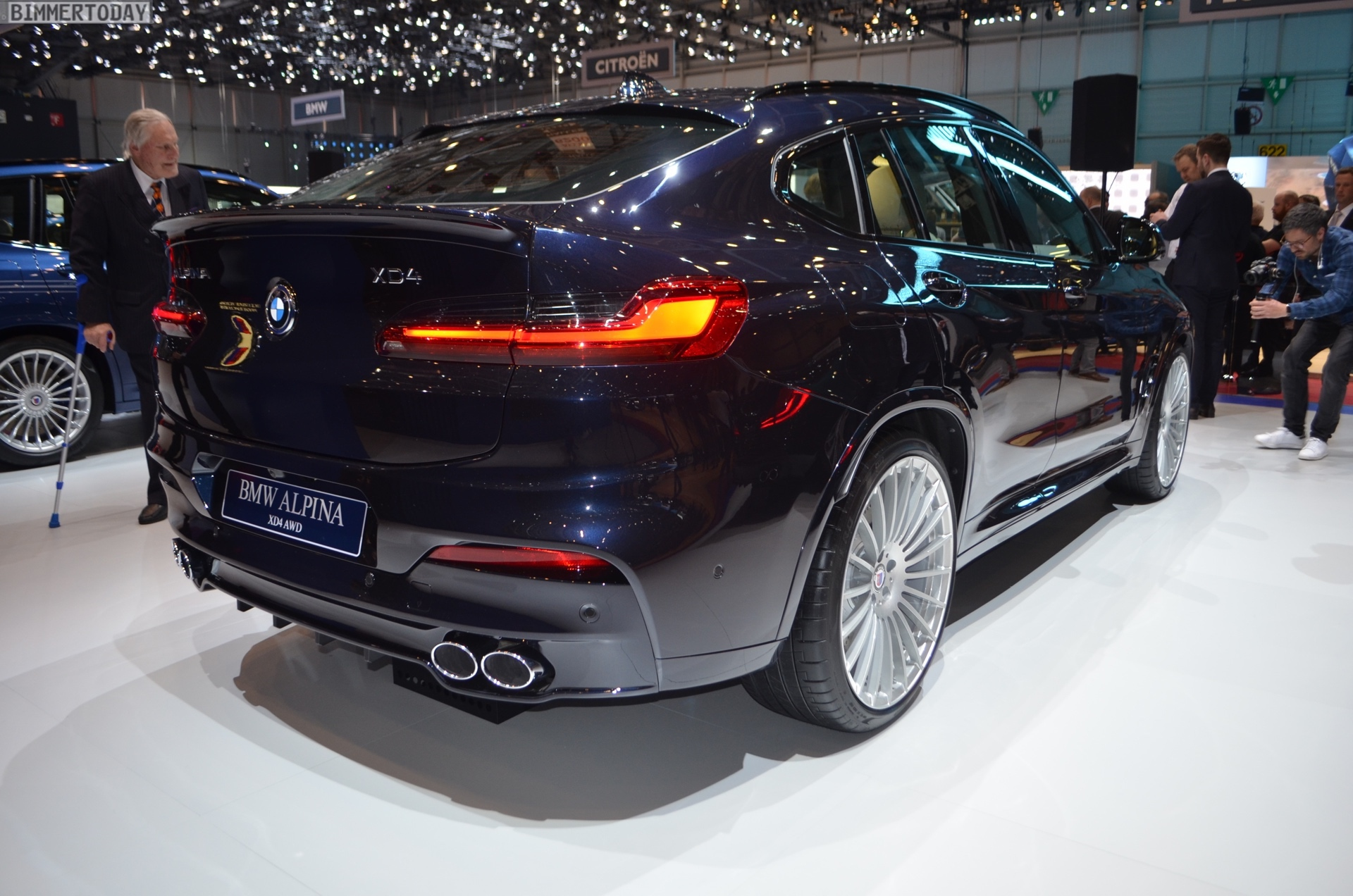 2018 Geneva Motor Show: First live photos of the G02 BMW ALPINA XD4