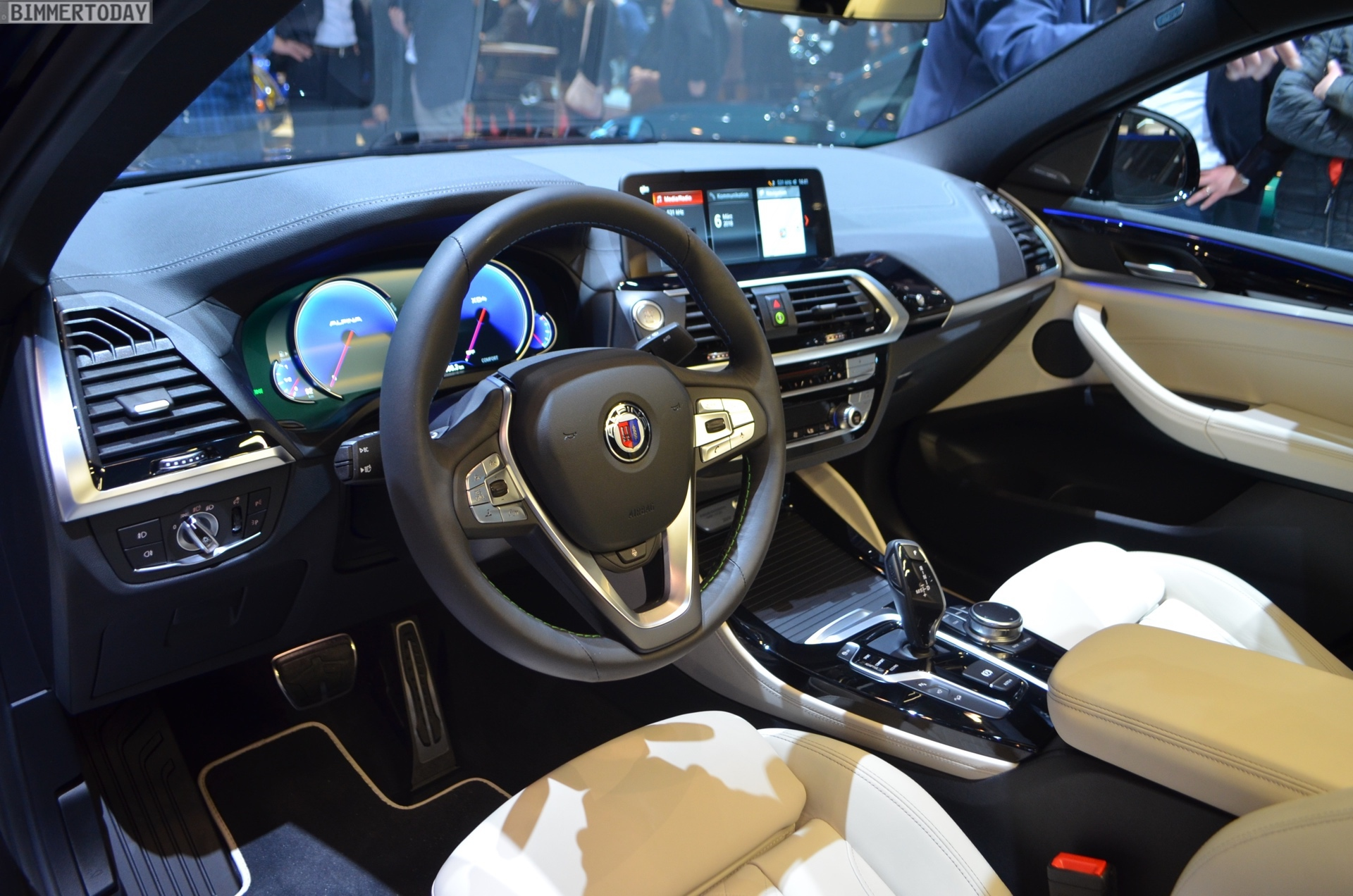 Genf 2018 Alpina XD4 BMW X4 G02 Live 19