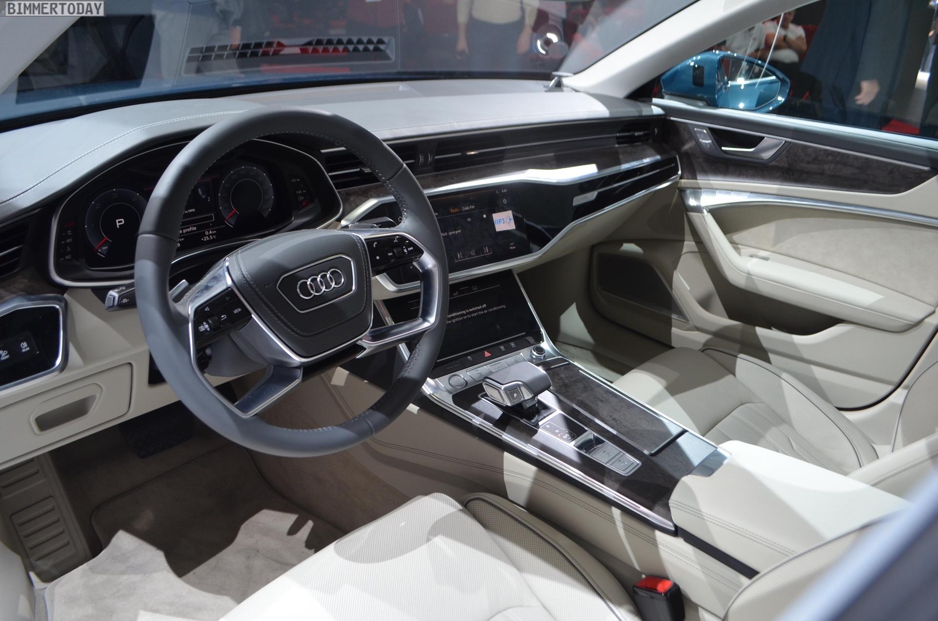 Genf 2018 Audi A6 50 TDI quattro s Line Interieur Live 01