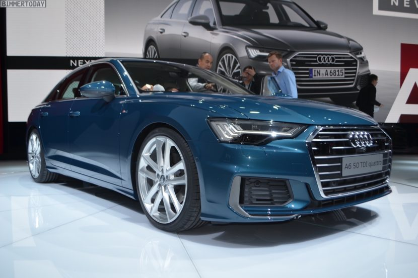 Geneva Motor Show Live Photos Of The New Audi A - Car audi a6