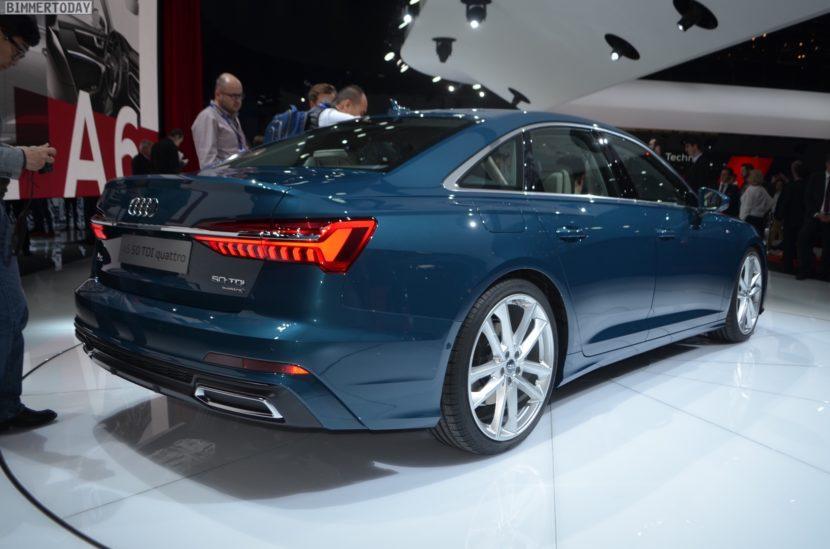 Genf 2018 Audi A6 50 TDI quattro s Line Live 02 830x549