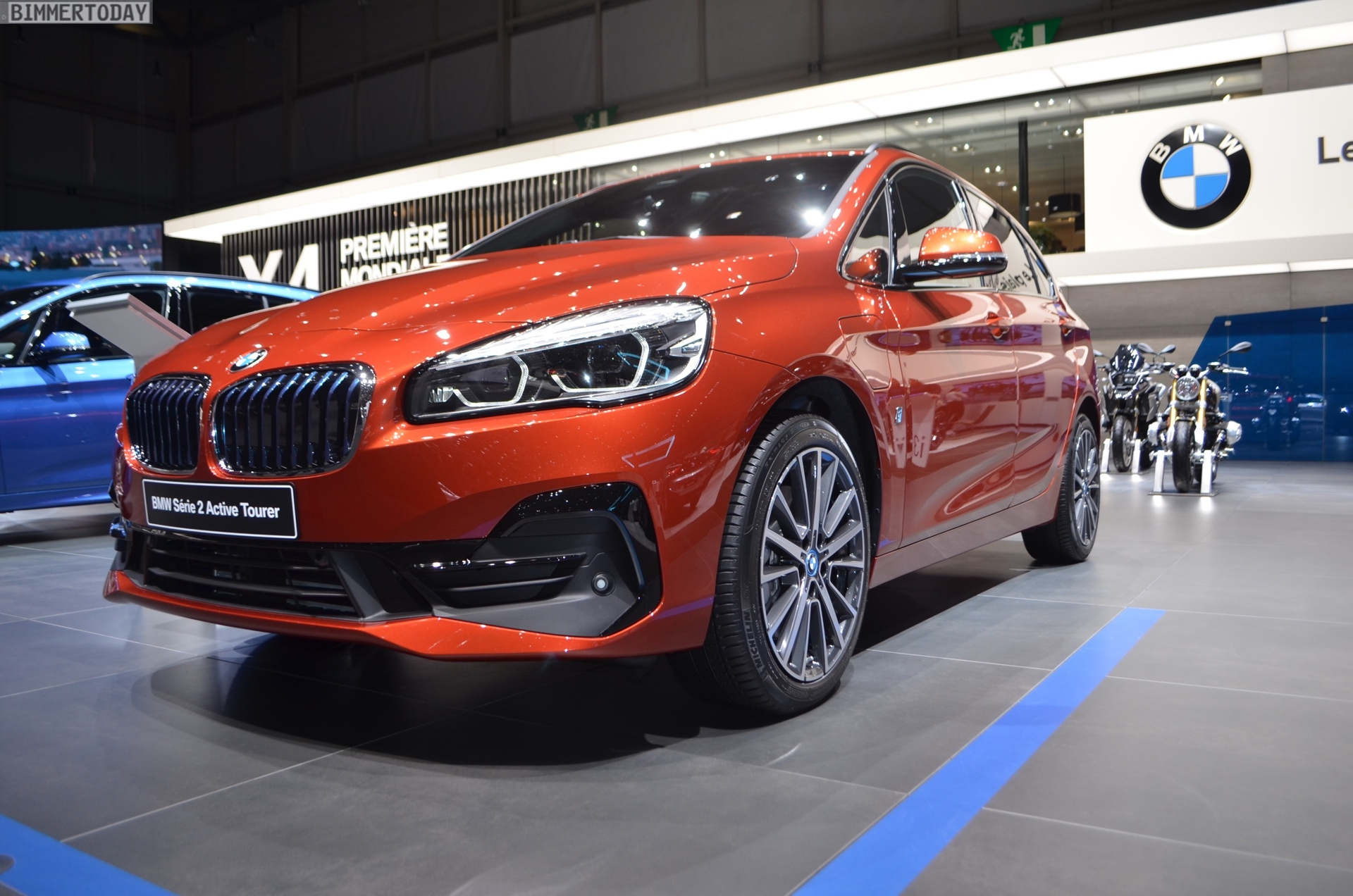 2018 Geneva Motor Show Bmw 2 Series Active Tourer Facelift In