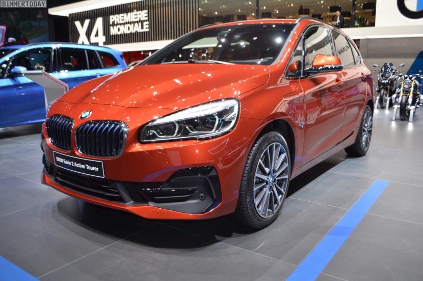 Genf 2018 BMW 2er Active Tourer F45 LCI Facelift 225xe Live 08 830x553