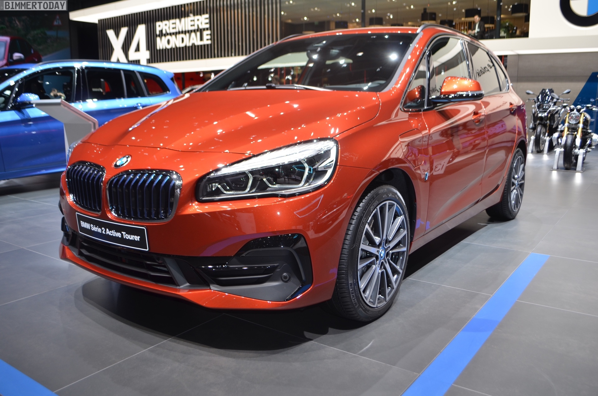 2018 Geneva Motor Show Bmw 2 Series Active Tourer