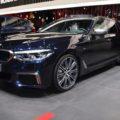 Genf 2018 BMW 5er G31 Touring M550d Azuritschwarz Live 01 120x120
