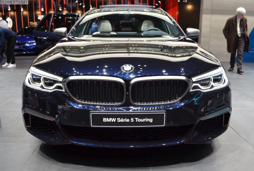 Genf 2018 BMW 5er G31 Touring M550d Azuritschwarz Live 05 830x559