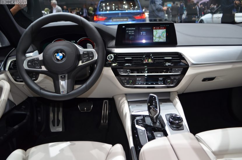 Bmw Of Newton >> 2018 Geneva: Live photos of the BMW M550d Touring in Azurite Black