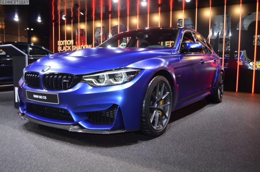 Genf 2018 BMW M3 CS F80 Frozen Dark Blue Live 01 830x550