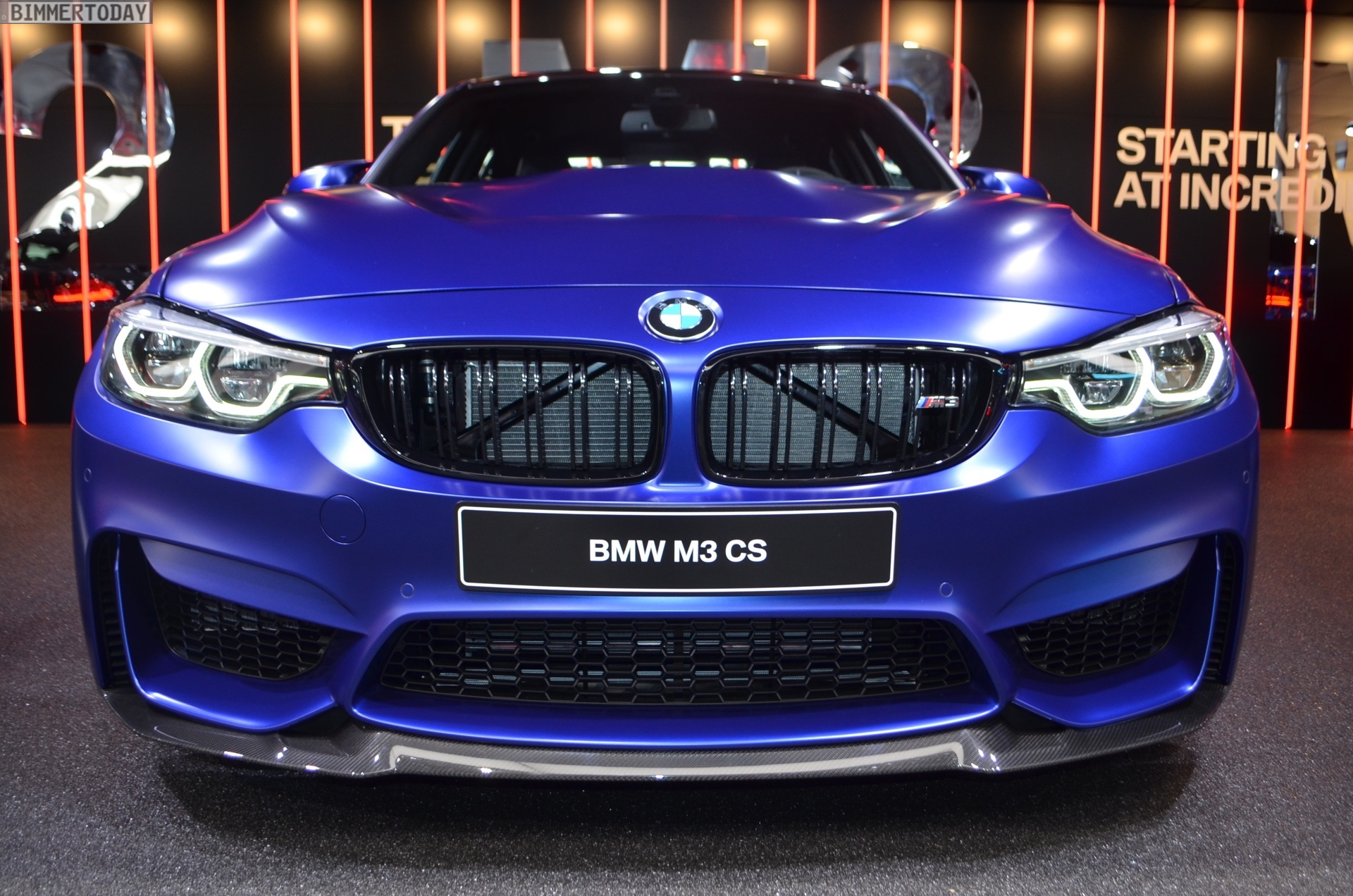 2018 Geneva Live Photos Of The Bmw M3 Cs F80 In Frozen Dark Blue