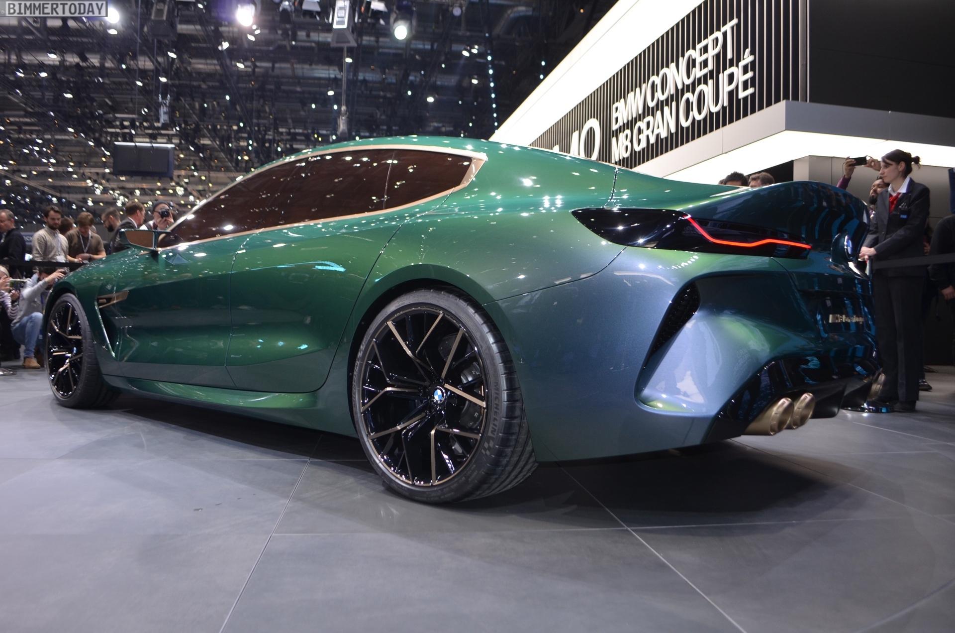 Bmw Concept M8 Gran Coupe Real Life Photos