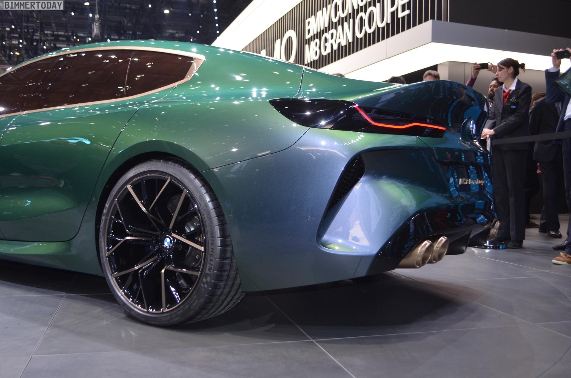BMW Concept M8 Gran Coupe - Real Life Photos