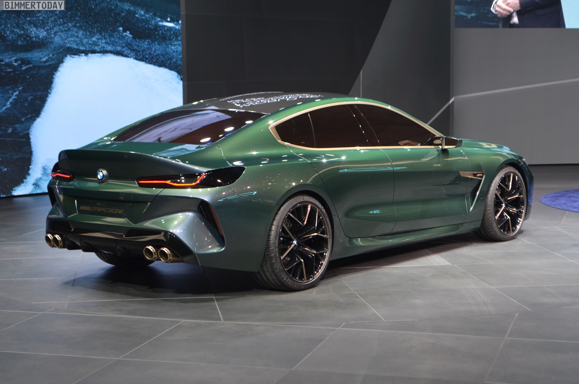 Sports Cars Luxury >> BMW Concept M8 Gran Coupe - First Videos