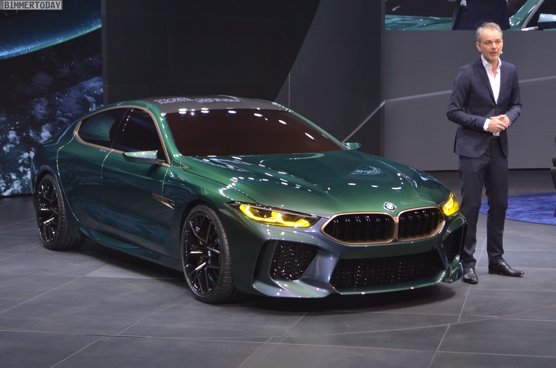 Bmw Concept M8 Gran Coupe Real Life Photos