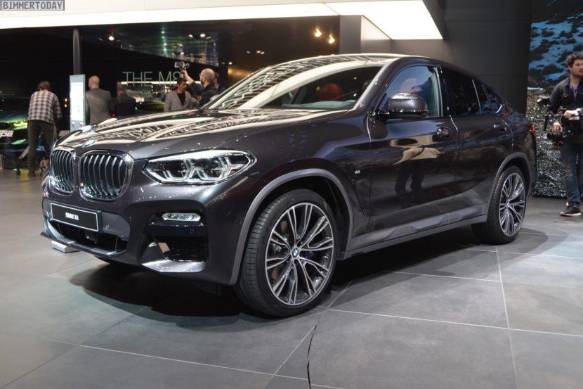 Genf 2018 BMW X4 G02 xDrive30i M Sport X Sophistograu Live 01 830x553