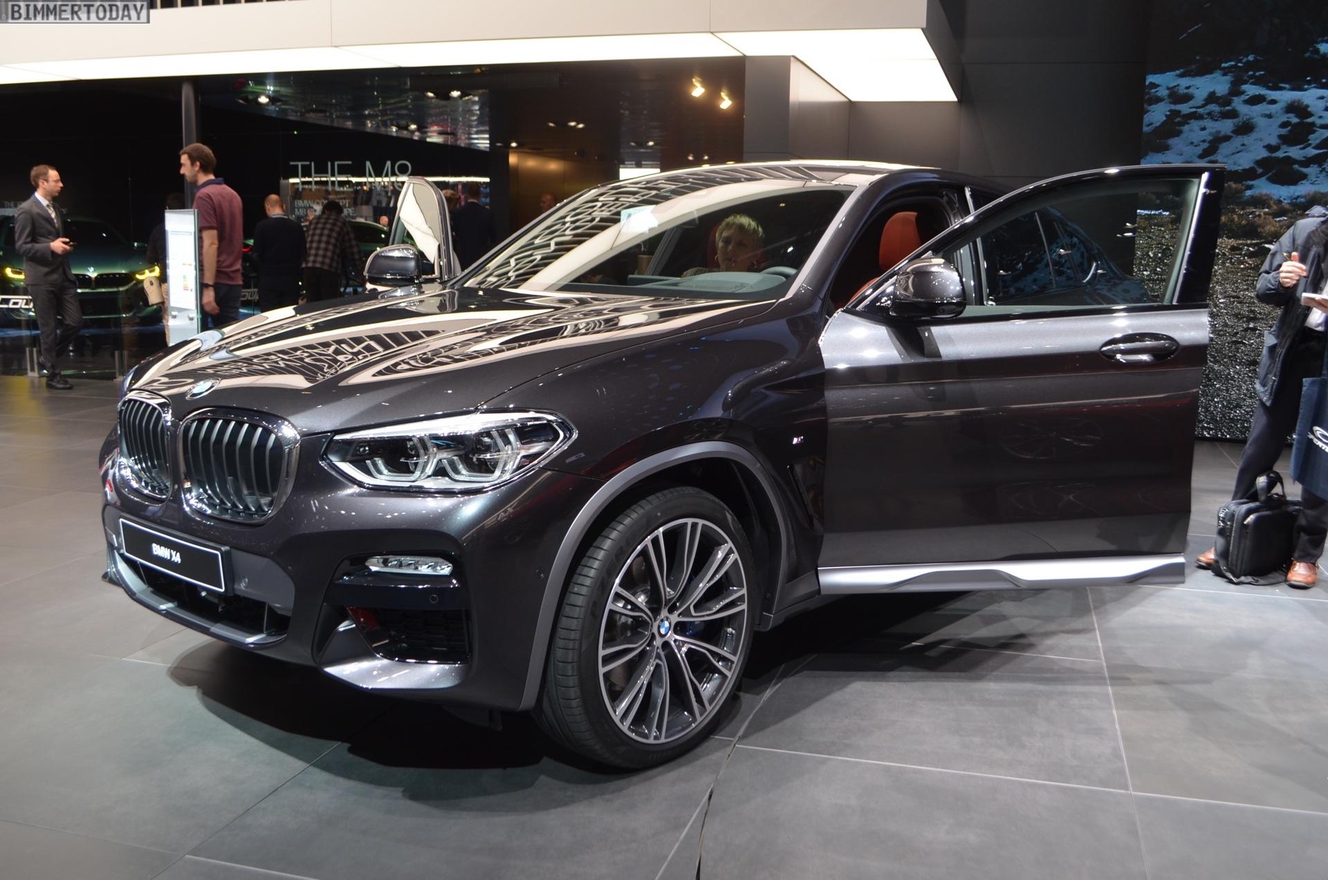 2018 Geneva Motor Show New Bmw X4 In Sophisto Grey