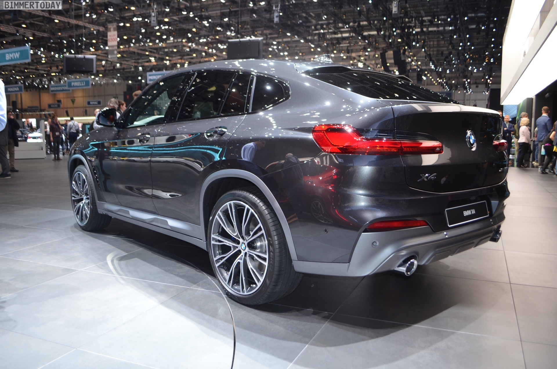 2018 Geneva Motor Show New Bmw X4 In Sophisto Grey