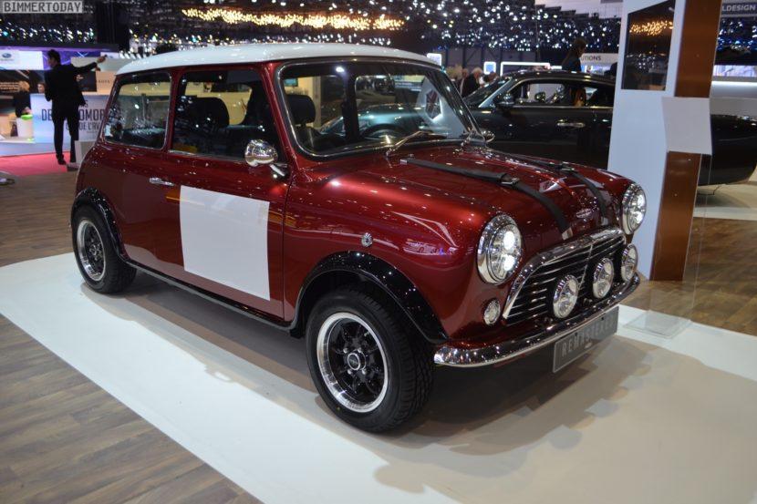 Genf 2018 David Brown Automotive MINI Remastered Live 01 830x553