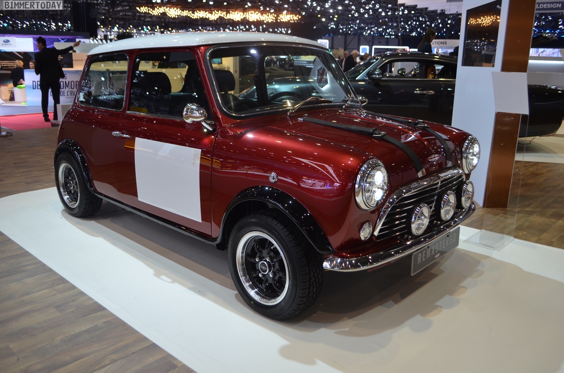 Genf 2018 David Brown Automotive MINI Remastered Live 01