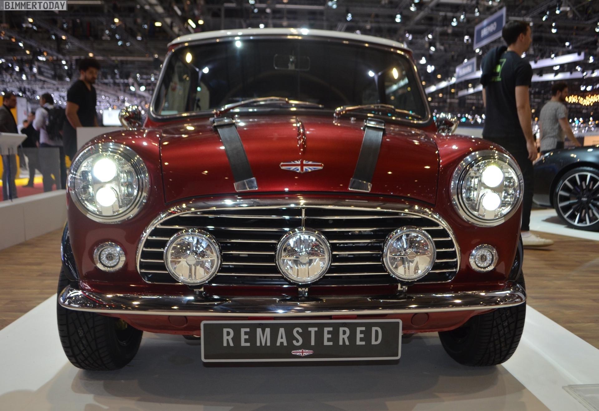 Genf 2018 David Brown Automotive MINI Remastered Live 06
