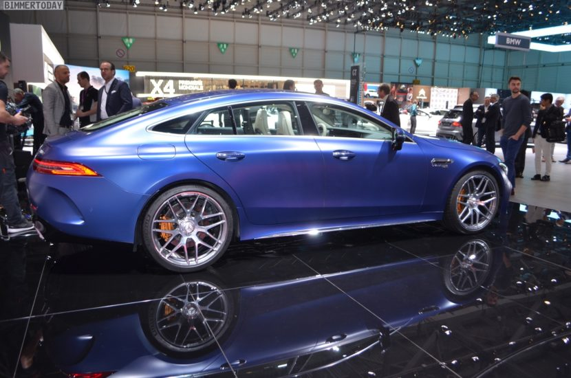 Genf 2018 Mercedes AMG GT 4 Tuerer Coupe X290 Live 02 830x550