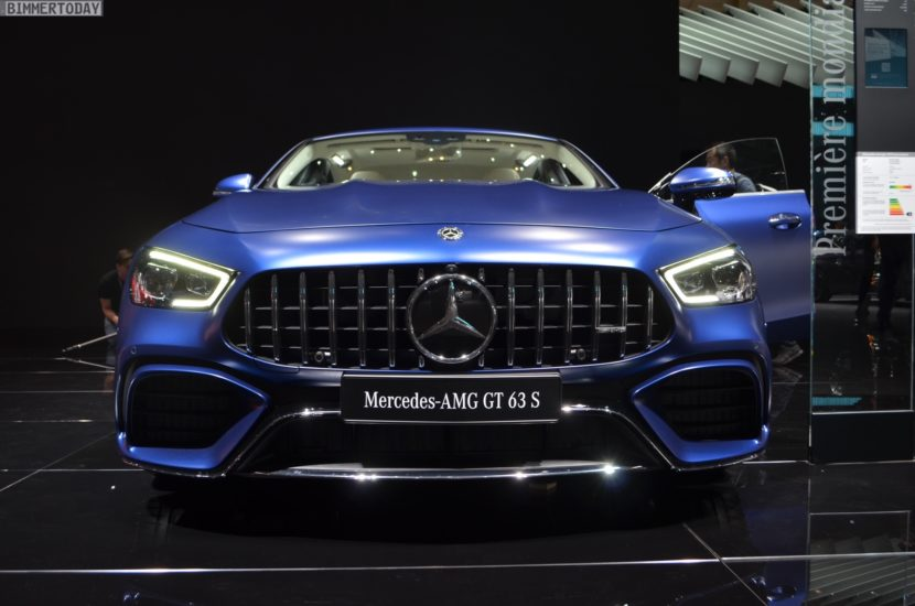 Genf 2018 Mercedes AMG GT 4 Tuerer Coupe X290 Live 07 830x550