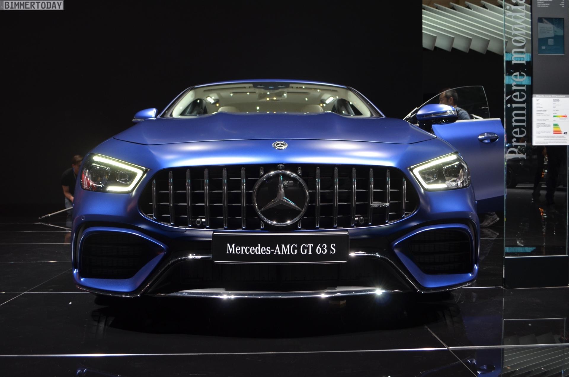 2018 Geneva Motor Show: Live Photos Mercedes-AMG GT 4-Door ...