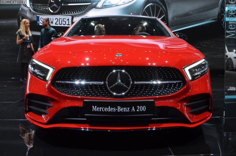 Genf 2018 Mercedes Benz A Klasse W177 Live 06 830x549