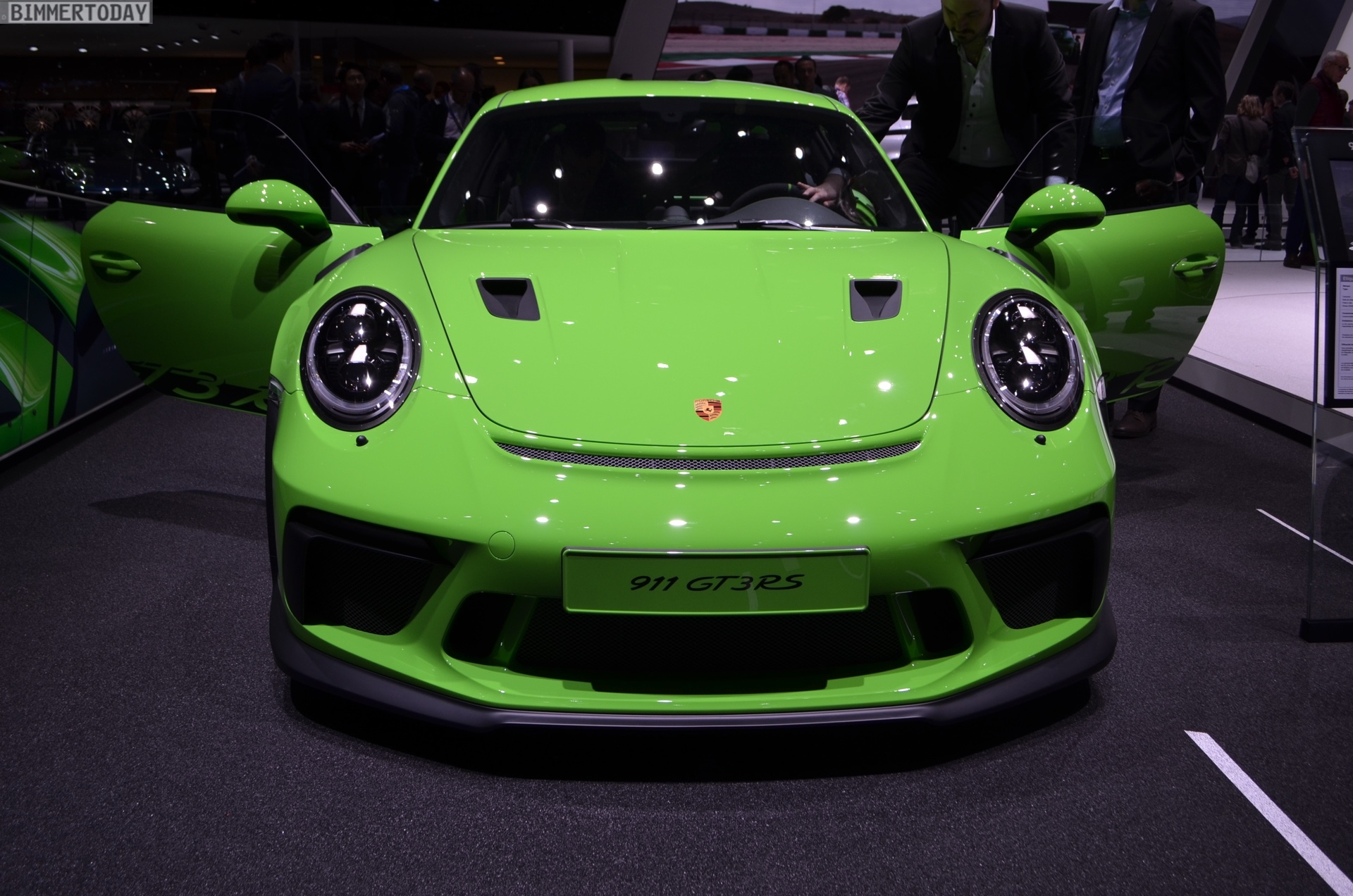 2018 Geneva Live Photos Of The Porsche 911 Gt3 Rs 991 2