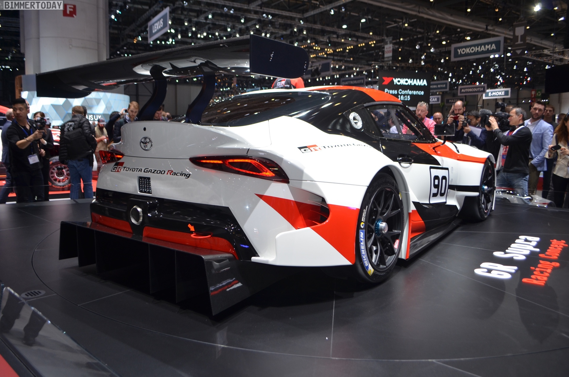 2018 Toyota Supra >> Geneva 2018 Toyota Supra Breaks Cover In Racing Guise
