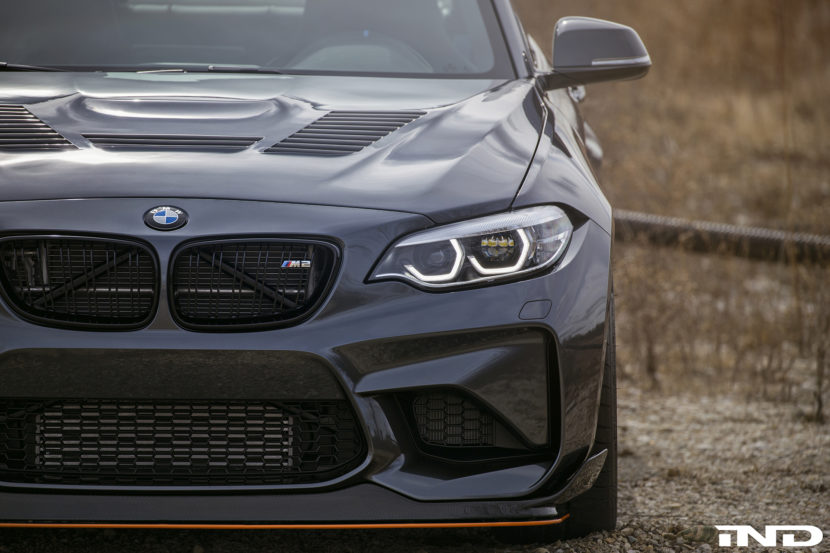Mineral Gray BMW M2 Project By IND Distribution Image 7 830x553
