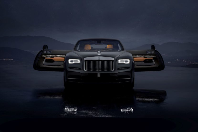 Rolls Royce Wraith Luminary Collection 3 830x553