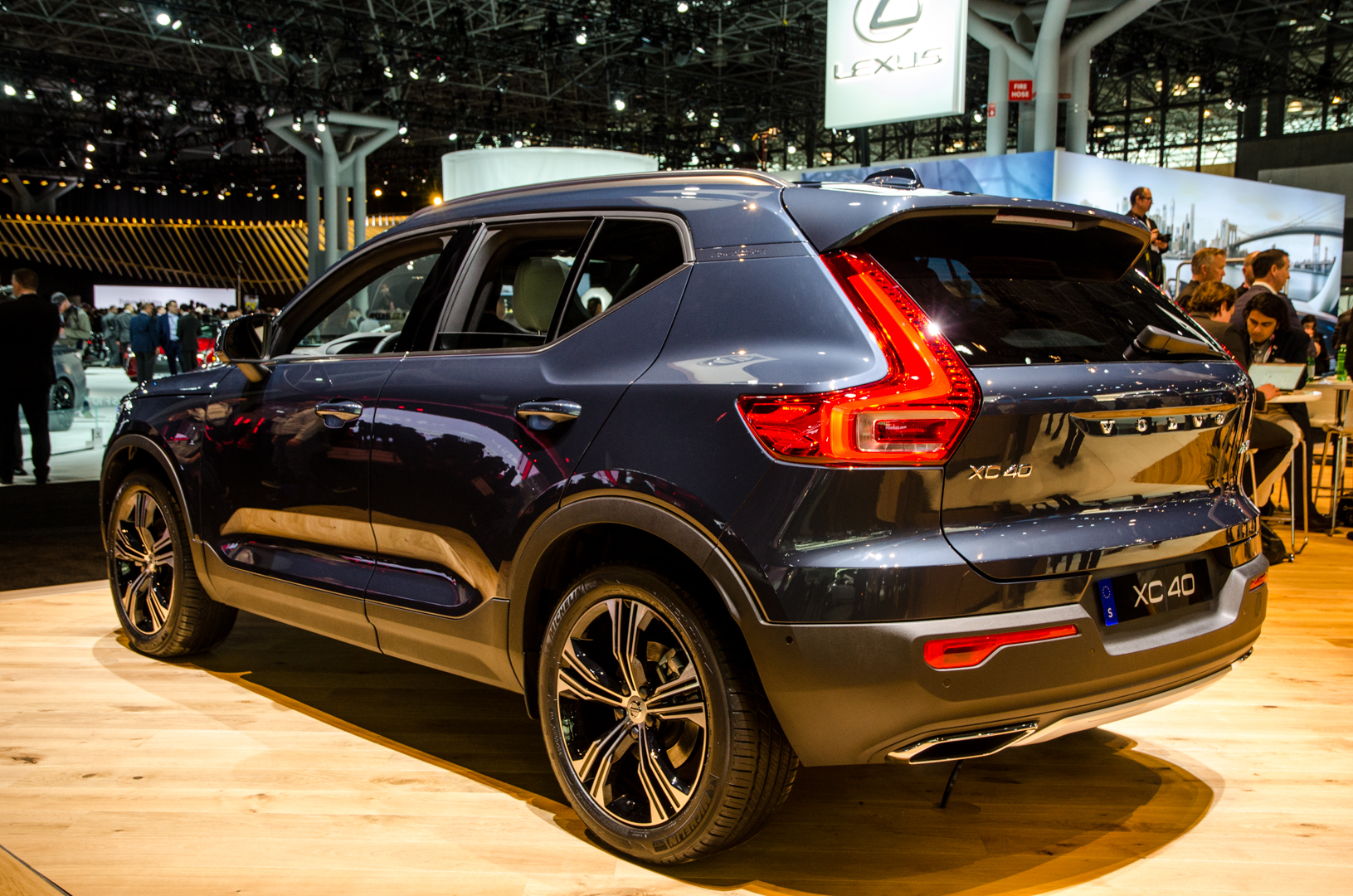Bmw X1 Used >> 2018 NYIAS: Volvo XC40 Was a Huge Hit