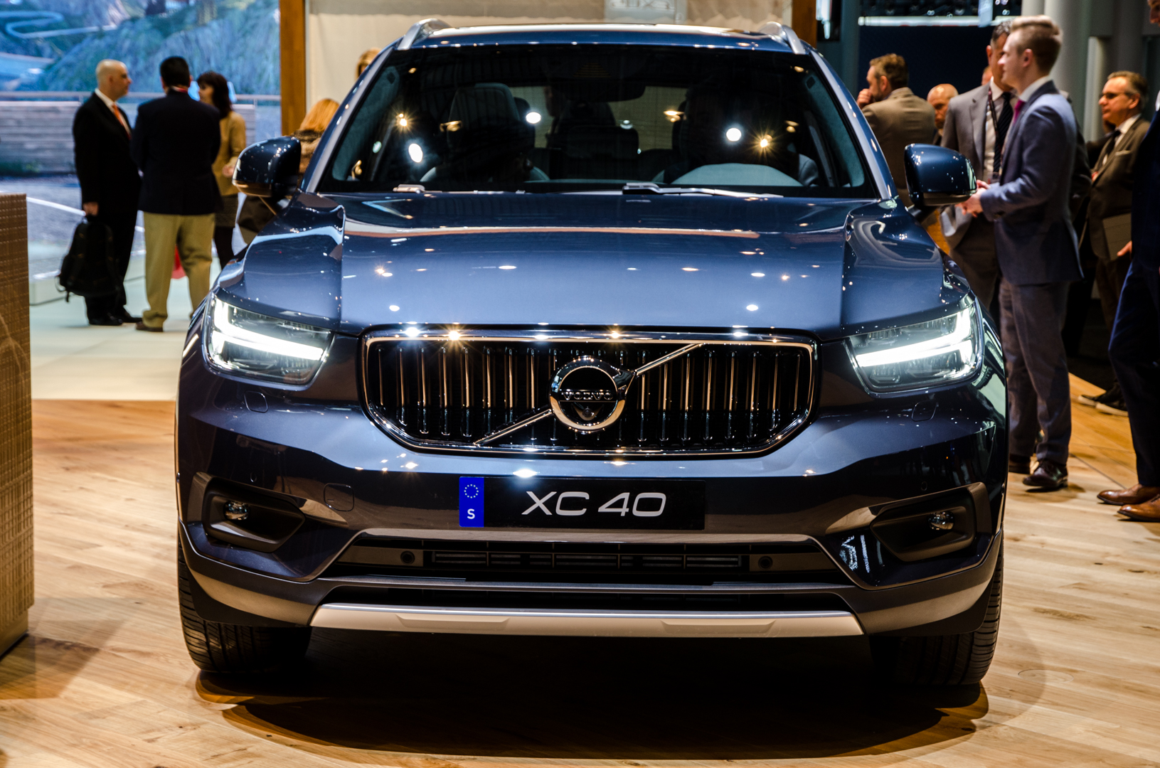 2018 nyias volvo xc40 was a huge hit. Black Bedroom Furniture Sets. Home Design Ideas