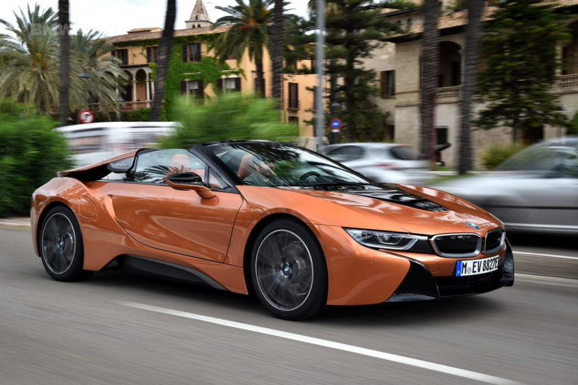 2018 BMW i8 Roadster review 11 830x553