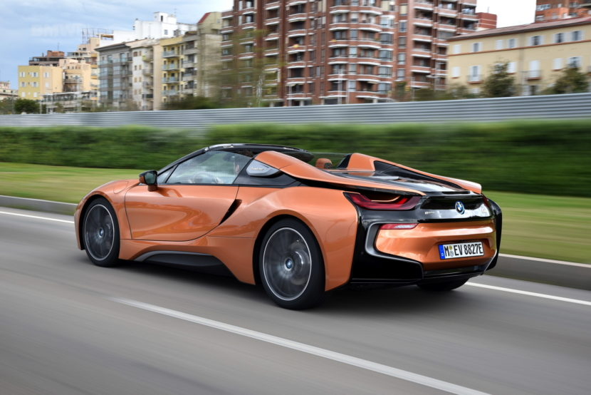 2018 BMW i8 Roadster review 18 830x554