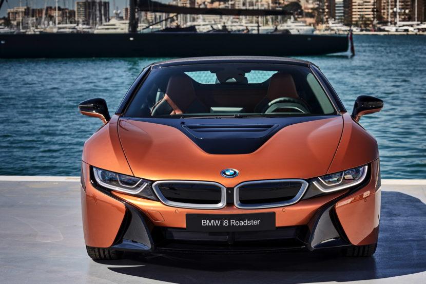 2018 BMW i8 Roadster test drive 115 830x553